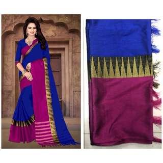Sarees Cotton silk