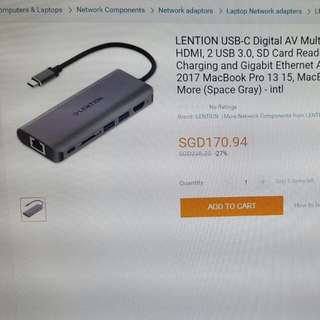 USB DIGITAL AVAILABLE MULTIPORT ADAPTER