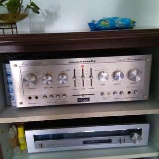 Marantz 1152 pre amp & Luxman 1600  power amp