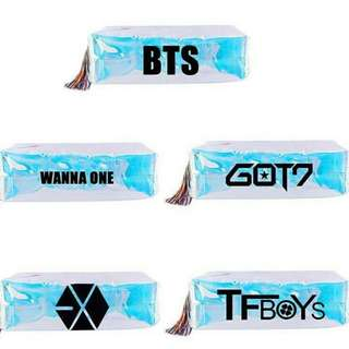 KPOP hologram pencil box