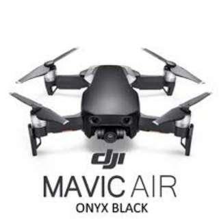 NEW! DJI Mavic Air Fly More Combo Onyx Black