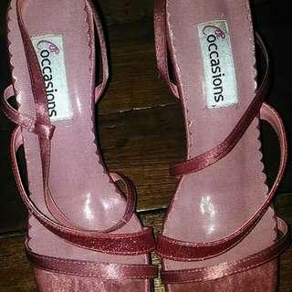 Pink Sandals (Formal)