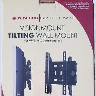 """Unused Sanus Tilting Wall Mount for 15"""" – 40"""" flat-panel TVs"""