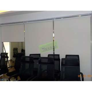 WINDOW BLINDS & 45pcs EXECUTIVE MESH CHAIRS--KHOMI