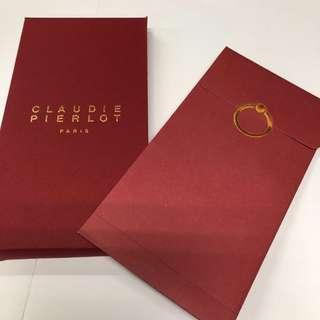 claudie pierlot 利是封 red packet 信封 名牌 luxury 貴氣 奢華 簡約 農曆新年 Chinese New Year