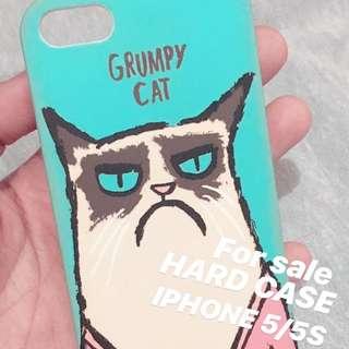 HARD CASE GRUMPY CAT IPHONE CASE 5/5S