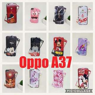 Oppo A37 Back Case with Tempered