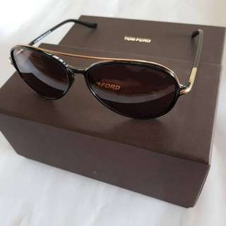 Repriced TOM FORD Women's Cyrille Aviator Sunglasses