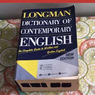 Long man dictionary of contemporary Rnglish