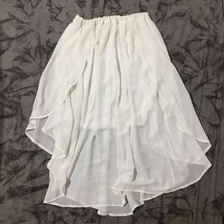 White Tumblr Skirt
