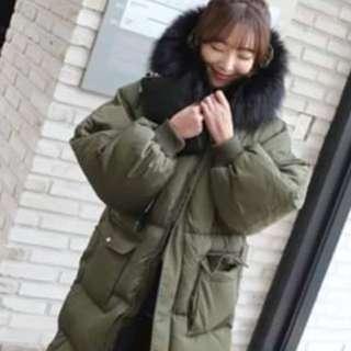 🚚 韓國代購款 羽絨大衣外套
