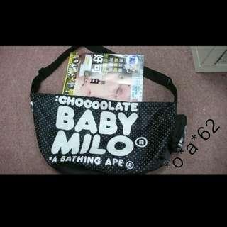 Babymilo ape bape bathing 小用輕巧袋