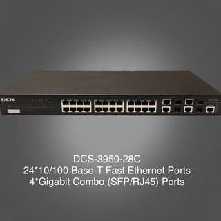 Fast Ethernet Intelligent Access Switch DCS-3950-28C
