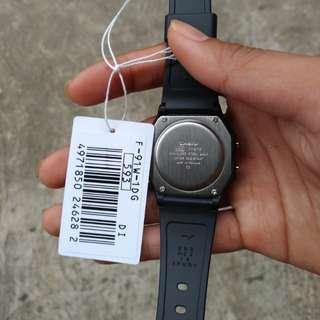 Jam Tangan Casio F-91W-1DG Original