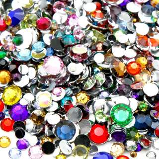 500pcs Mixed Rhinestone