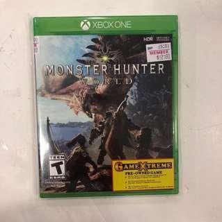 Xbox One Monster Hunter
