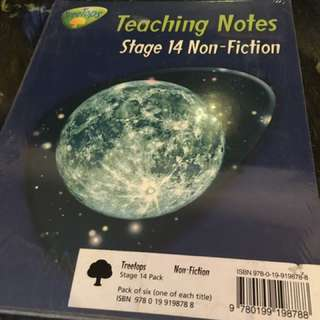 Brand new Oxford treetops stage 14 non-fiction english book