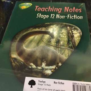 Brand new Oxford treetops stage 12 non-fiction english book