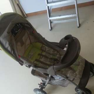 Graco Baby Pram With Detachable Buggu Boatd Mini