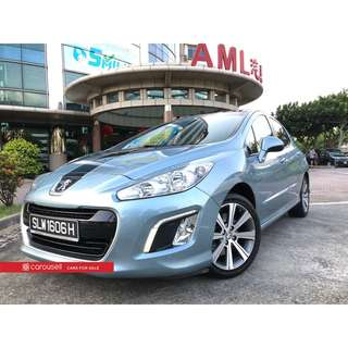 Peugeot 308 1.6A Turbo Allure Glass Roof