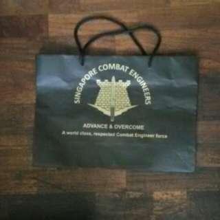 Singapore Combat Engineers Paper Bag