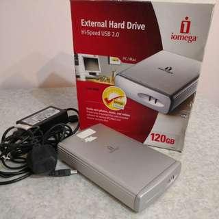 Iomega 120GB外置硬碟