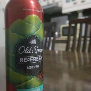 Old Spice Re-Fresh Body Spray (Citron with Sandalwood)