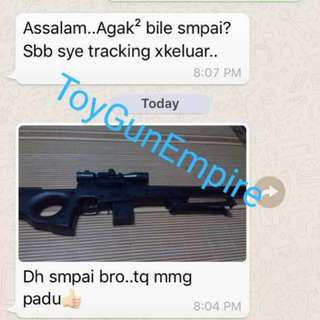 Customer Feedbacks Airsoft ToyGunEmpire