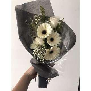 Gerbera bouquet instock valentine fresh