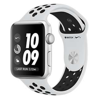 Apple watch silver with nike band LTE version 42mm