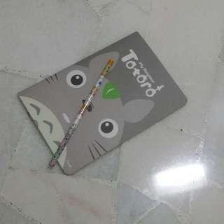 Note Book & Pencil