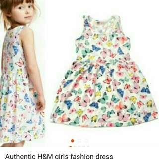 Authentic H&M girls fashion dress