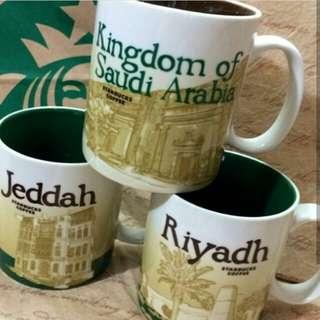 Starbucks Mug KSA/Jeddah/Riyadh Saudi Arabia