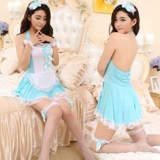 143 誘惑女傭睡衣睡裙