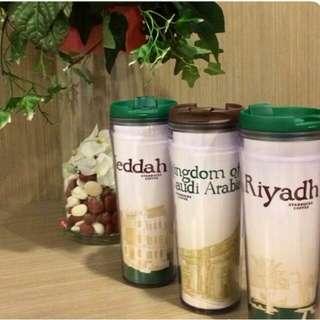 Starbucks Tumbler KSA/Jeddah/Riyadh Saudi Arabia