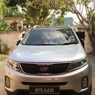 KIA Sorento Facelift 2.4 petrol Auto full time 4 wheel
