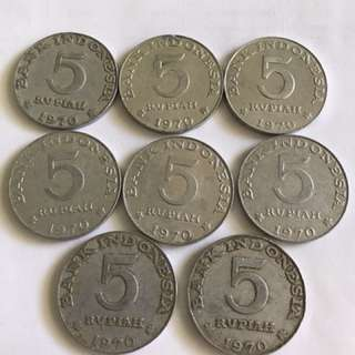 Indonesia - 5 rupiah