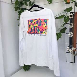 🌻 Rusty Multi Colour 80s Style Print Long Sleeve Shirt