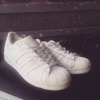 Adidas Supercolor All White