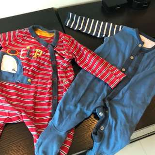 Mothercare night suits -2 pieces