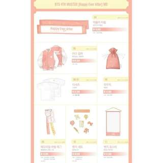 【2nd Batch Preorder】BTS 4TH MUSTER MD