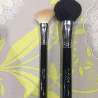 Mikatvonk Powder and Blush Brushes
