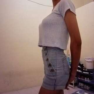 Hotpants Light Blue