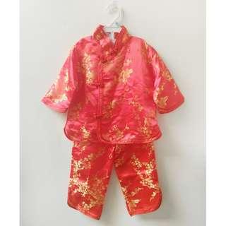 Pakaian Cina Cheongsam Anak