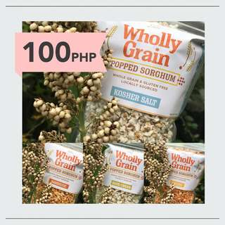 Wholly Grain Popped Sorghum