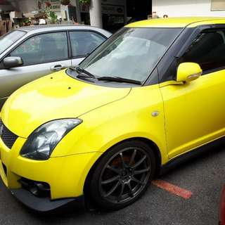 Suzuki swift SPORT edition 1.6 manual