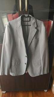 UNIQLO Men Grey Blazer (M size)