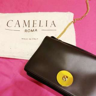 Camelia Roma Cross body bag in black