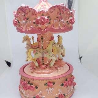 Merry go round- carousel music box