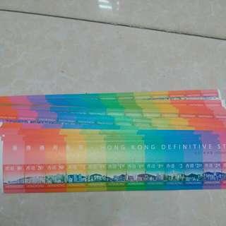 香港郵票100张